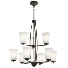 Tao Collection Tao 9 Light Chandelier OZ