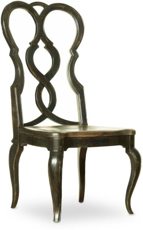 Auberose Splatback Wood Seat Side Chair