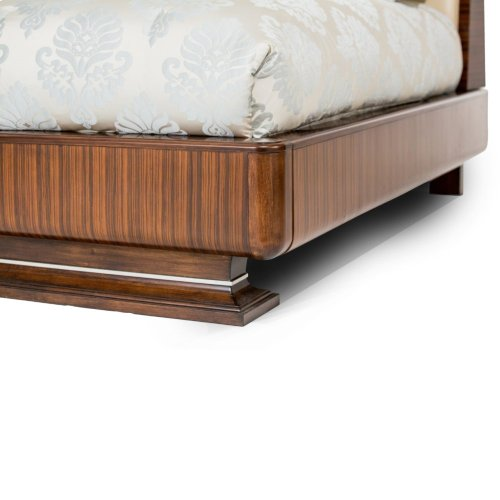 Eastern King Channel Tufted Bed (4 Pc)