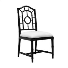 Chloe Side Chair, Black