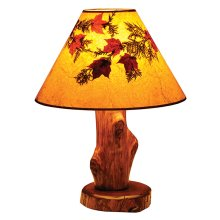 Table Lamp - Vintage Cedar