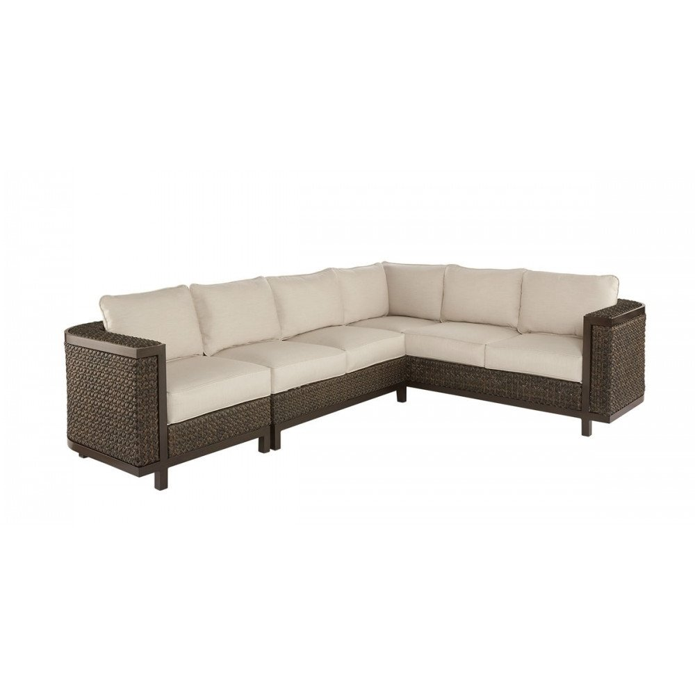Epicenters Brentwood Outdoor Wicker Sectional