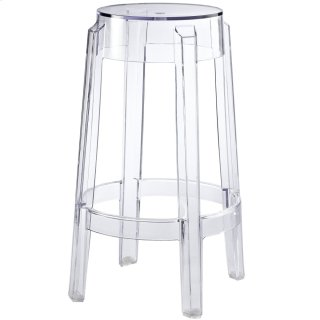 Casper Counter Stool in Clear