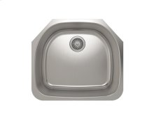 """Stainless steel kitchen sink With rounded corners [3,5""""]"""