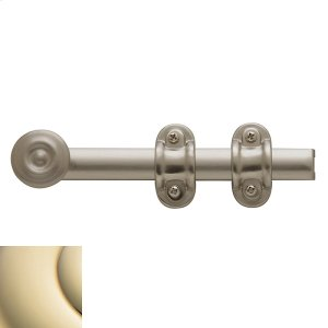 Lifetime Polished Brass Ornamental Heavy Duty Surface Bolt Product Image