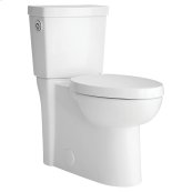 Studio Activate Concealed Trapway Touchless Elongated Toilet - White