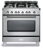 "Stainless Steel  Classic 36"" Gas Single Oven Range"