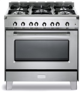"Stainless Steel Verona Classic 36"" Gas Single Oven Range"