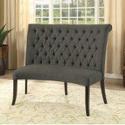 Nerissa Round Love Seat Bench Fabric Product Image