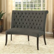 Nerissa Round Love Seat Bench Fabric Product Image