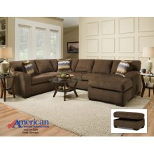 5250 - Perth Chocolate 2-Piece Sectional