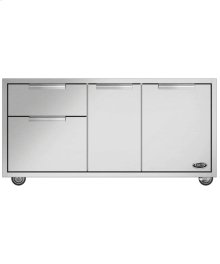 "48"" Cad Grill Cart, Series 9"