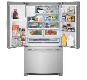 $1,200 OFF REGULAR PRICE - SAVE!!! Frigidaire Gallery 21.7 Cu. Ft. Counter-Depth French Door Refrigerator / DGHD2361TF (DISCONTINUED FLOOR MODEL - FULL WARRANTY)