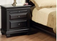 Florentino 2/Dwr Night Stand W/Pullout Shelf Product Image