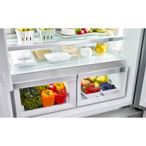 French Door Bottom Mount Inox-easyclean