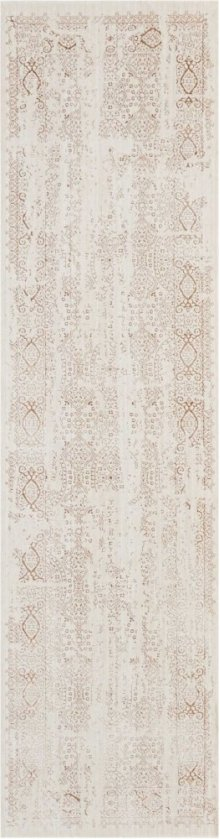 Silver Screen Ki344 Iv/mocha Runner 2'2'' X 7'6''