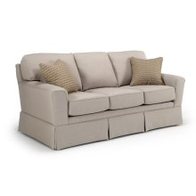 Annabel Collection S81 Stationary Sofa With Skirt