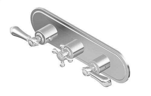 Canterbury M-Series Valve Horizontal Trim with Three Handles