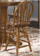 24 Inch Arrow Back Barstool Product Image