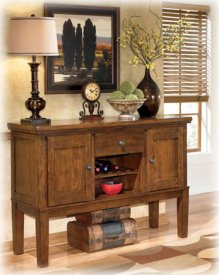 Dining Room Server Ralene - Medium Brown Collection Ashley at Aztec Distribution Center Houston Texas