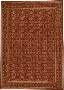 Hard To Find Sizes Chateau Rm01 Ruby Rectangle Rug 5' X 7'