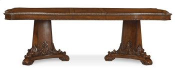 Old World Double Pedestal Dining Table Product Image