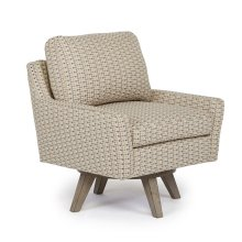 SEYMOUR Swivel Barrel Chair