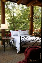 Pine Queen Iron Bed Product Image