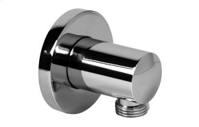 Contemporary Round Wall Supply Elbow