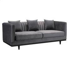 Garland Sofa Gray Velvet