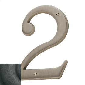 Distressed Oil-Rubbed Bronze House Number - 2