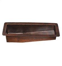Sorento Black Copper Bar/Prep Sink