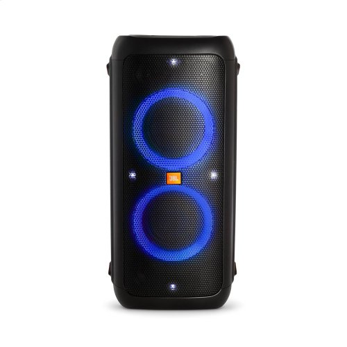 JBL PartyBox 300 Rechargeable, High Power Audio System with Bluetooth Connectivity, Light shows and Mic/Guitar inputs