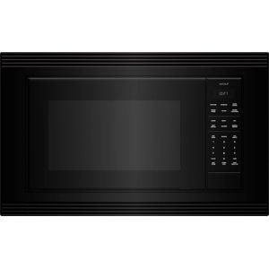"Wolf  Standard Microwave 27"" Black Trim - E Series"