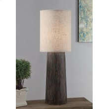 Refined Tree Trunk Table Lamp