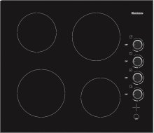 """24"""" Smooth Top Electric Cooktop"""