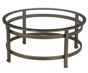 Mandarin Round Cocktail Table