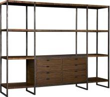 Expose Display Unit Center Shelves