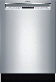"300 Series 24"" Recessed Handle Dishwasher 300 Series- Stainless steel SHE863WF5N"