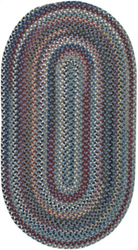 Yorktowne Blue Braided Rugs