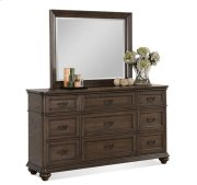 Belmeade Nine Drawer Dresser Old World Oak finish Product Image
