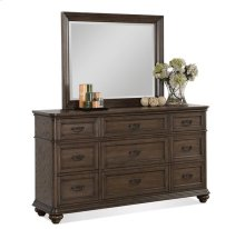 Belmeade Nine Drawer Dresser Old World Oak finish