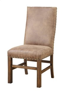 Side Chair W/nailhead Set Up Fully Upholstered