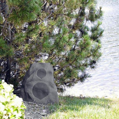 AWR-650-SM Outdoor Rock Speaker - Sandstone