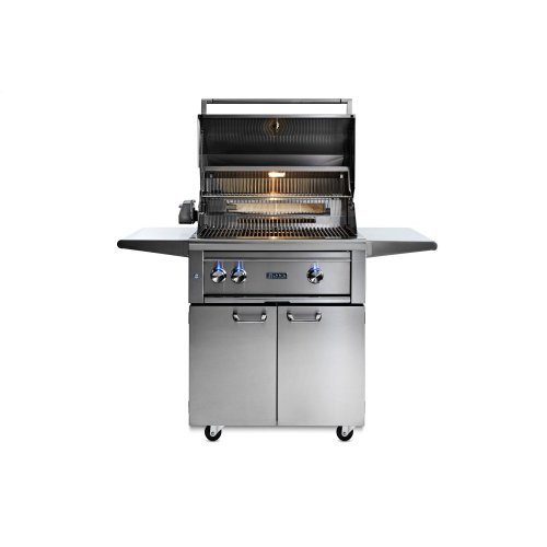 """30"""" Lynx Professional All Trident Freestanding Grill Rotisserie, NG"""