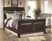 Ridgley - Dark Brown 3 Piece Bed Set (King)