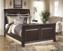 Ridgley - Dark Brown 3 Piece Bed Set (Cal King)