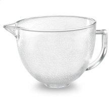 KitchenAid® 5-Qt. Tilt-Head Hammered Glass Bowl with Lid - Other