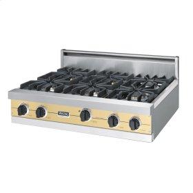 """Golden Mist 36"""" Sealed Burner Rangetop - VGRT (36"""" wide, six burners)"""