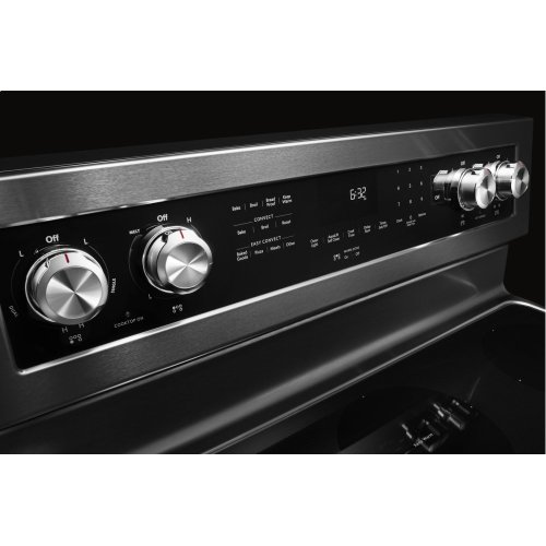 30-Inch 5-Element Electric Convection Range - Stainless Steel